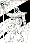 Skeletor by violencejack666