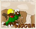 Comic: Digger by TeamBrux
