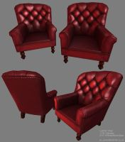 Old leather chair -GAMC 2- by ezjamin