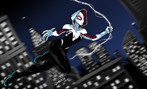 SpiderGwen by ZZoMBiEXIII