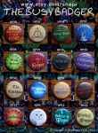 Harry Potter Badges 1 by StephaniePride
