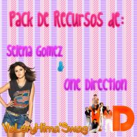 Pack De Recursos De Selena gomez Y One Direction by VaySelebieber