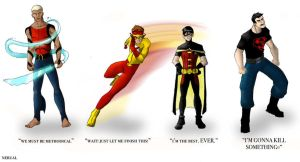 Young Justice -  Guys by Nerual-56