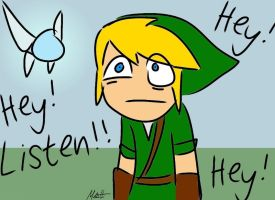 Link and Navi by Redfred92