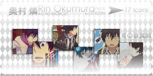 Rin Okumura Pack Icon by CLFF