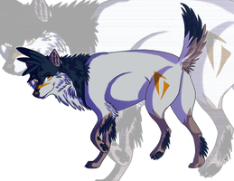 Auro for DisasterWolf by Spazmatastic