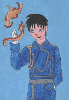 Roy Mustang for Paula by Stargirll