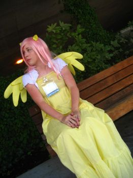 Fluttershy Cosplay - Kumori Con 2012 (1) by Reality-cat