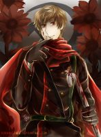 2P! APH Russia - Red Sunflower by KuraraCinde