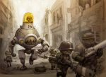 Mech Unit 76c on Patrol by JakeParker