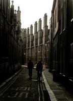 Side Street Cambridge by manicstreetpreacher
