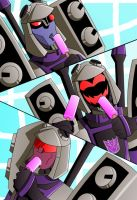 Blitzwing and Popsicles by bbpuyo