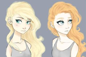 Emily and I by BlondieGurl1129