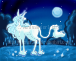 The Last Unicorn - Colored- by Genolover