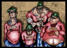 The Real Beagle Boys by SaintYak