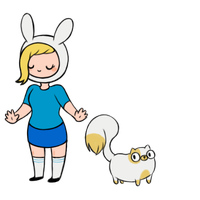 Fionna and Cake babus by SuperTuffPinkPuff