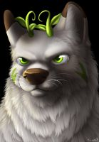 Earthhound Auction Bust by TieWolf