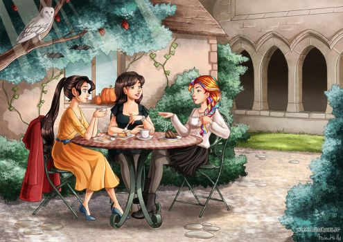 Tea Time by HollyBell