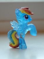 WIP Rainbow Dash Blind-bag painted mane by SkycatcherEquestria