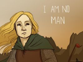 I Am No Man by ShamsArts