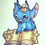 Stitch - Fanart by DyeDy