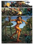The Jungle Disaster Page by Yleniadn86