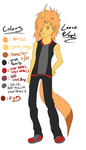 Quick Ref: Lanceeee by NOT-a-Dude