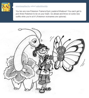 Pokemon Trainers Part 1 by AskEddnEddy
