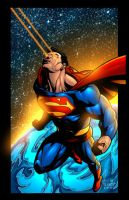 SUPERMAN color by redeve