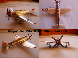 Republic P47 D30 Thunderbolt by Teratophoneus
