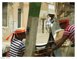Gondoliers by Drage3000