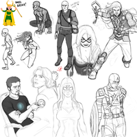 Marvel Chars by MartaFerreira