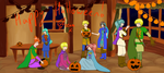 Colosseum 2014, Round 3: Happy Halloween! by AthenaBlackquill