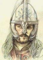LOTR Eomer by morgansartworld