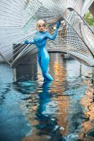 Zero Suit Samus: Water, Metal and Latex by Miracole