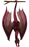 Kage is a Bat by jaclynonacloud
