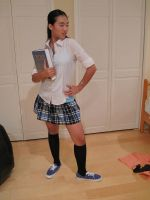 Private School  Girl 14 by imagine-stock