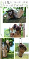 Land Bat OOAK Art Doll: Sold by Turtle-Arts