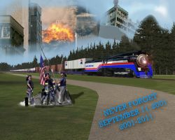 Remember September 11, 2001 by 736berkshire