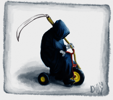 Death Rides a Pale Trike... by Filsd