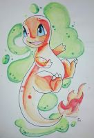 Charmander by she0wolf