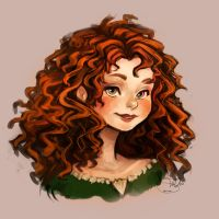 Merida from Brave! by PetiteBoss