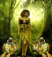 Queen of The Jungle by VisualPoetress