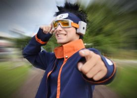 Uchiha Obito Cosplay - I'll become Hokage! by ivachuk