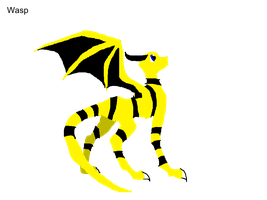 Dragon Avengers Wasp by QuestionTheDragon