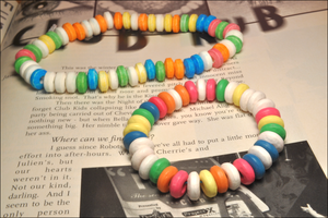 Faux Candy Bracelet by rottingteeth