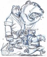 BEAR and BEES by Wieringo