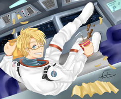 APH - Zero Gravity by chibi-rice-ball-chan