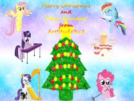 Happy Christmas to all by ArtStude3n2