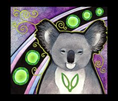 Koala as Totem - 02 by Ravenari